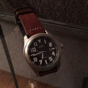 Citizen Eco-Drive military field watch WR200